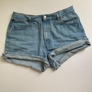 Vintage Gap Light Wash Denim Shorts Size 16